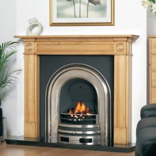 Cast Tec Royal Arch Half Polished Fireplace Insert