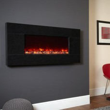 Celsi Electriflame Basalt Granite Electric Fire