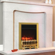 Celsi Electriflame Royale Brass Electric Fire