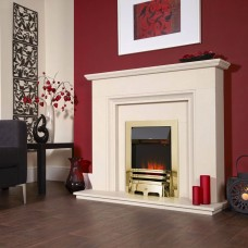 Celsi Electriflame Camber Silver Electric Fire