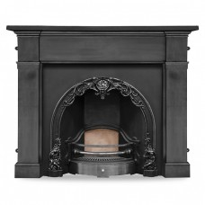 Carron Cherub Cast Iron Fireplace Insert