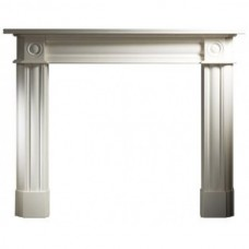 """Gallery Chiswick Limestone 56"""" Fireplace Surround/Mantel"""