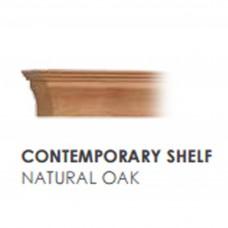 Gallery Contemporary Natural Oak Shelf Beam