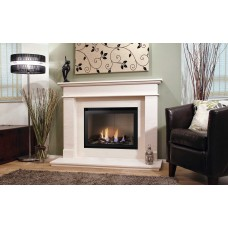 Crystal Fires® Connelly Tulsa Gas Fire