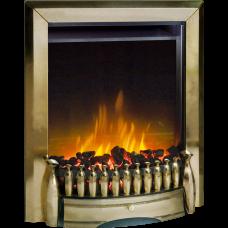 Dimplex Exbury Antique Brass Optiflame® LED Electric Fire