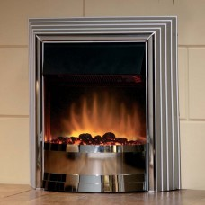 Dimplex Castillo Chrome Optiflame® Freestanding Electric Fire