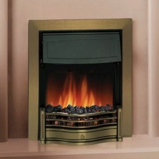 Dimplex Danesbury Antique Brass Optiflame® Inset Electric Fire