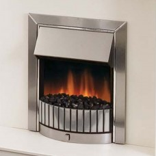 Dimplex Delius Stainless Steel Optiflame® Electric Fire