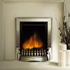 Dimplex Exbury Chrome Optiflame® Electric Fire