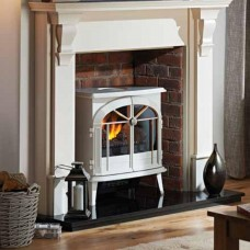 Dimplex Meribel Creamy-White Electric Opti-myst® Stove