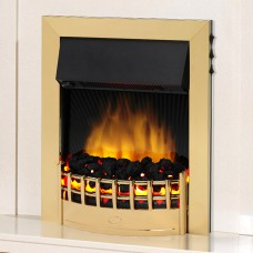 Dimplex Wesley Brass Optiflame® LED Electric Fire