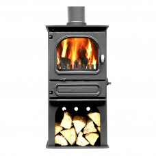 Dunsley Highlander 5 Multi-fuel & Woodburning Log Store Stove