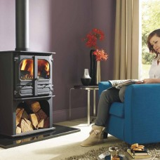 Dunsley Highlander 8 Wood Burning/Multifuel Log Store Stove