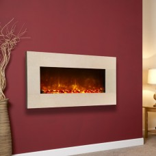 Celsi Electriflame Wall Mounted Royal Botticino Electric Fire