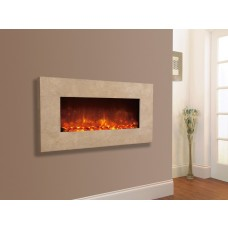 Celsi Electriflame Travertine Electric Fire