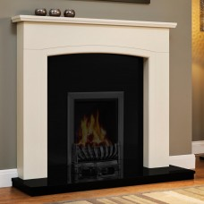 "Be Modern Ellonby 50"" Timber Fireplace Surround"