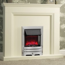 Be Modern Enrico Brushed Steel Electric Fire 1