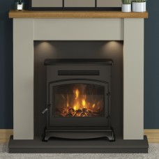 """FLARE Collection 42"""" Barrowden Timber Inglenook"""