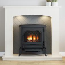 "FLARE Collection 48"" Woodbridge Inglenook Fireplace Suite"