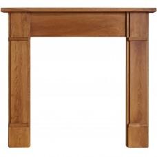 Cast Tec Flat Victorian Wooden Surround/Mantel