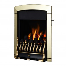 Flavel Calypso Plus Brass Gas Fire