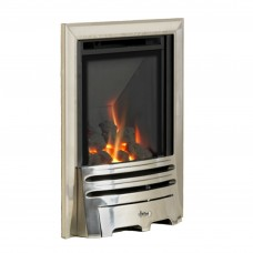 Flavel Kenilworth High Efficiency Silver Gas Fire