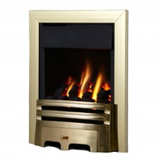 Flavel Kenilworth Plus Contemporary Brass Gas Fire