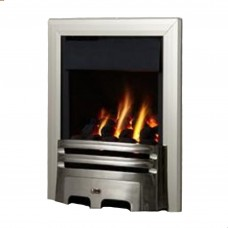 Flavel Kenilworth Plus Contemporary Silver Gas Fire