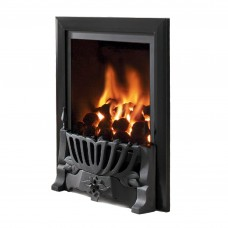 Flavel Kenilworth Traditional Black Gas Fire