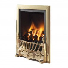 Flavel Kenilworth Traditional Brass Gas Fire