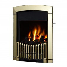 Flavel Rhapsody Plus Antique Brass Gas Fire