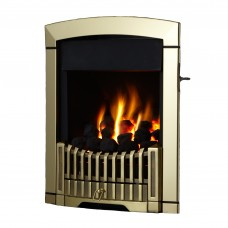Flavel Rhapsody Plus Brass Gas Fire