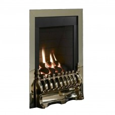 Flavel Windsor Traditional Slimline Inset Brass Gas Fire