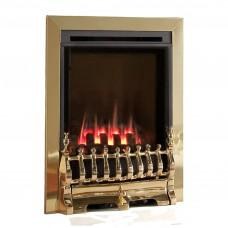 Flavel Windsor Traditional High Efficiency Brass Gas Fire