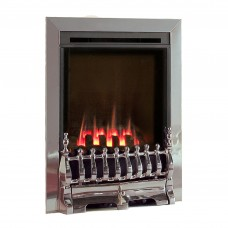 Flavel Windsor Traditional High Efficiency Silver Gas Fire