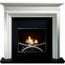 Gallery Asquith Limestone Fireplace Includes Optional Nexus Fire Basket