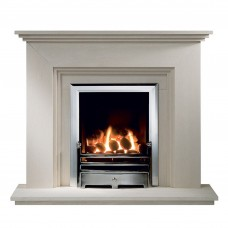 Gallery Cranbourne Limestone Fireplace Suite 1