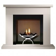 Gallery Durrington Stone Fireplace & Optional Pulse Fire Basket