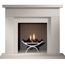 Gallery Durrington Stone Fireplace & Optional Pulse Fire Basket