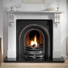 Gallery Kingston Fireplace Includes Henley Cast Iron Arch