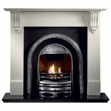 Gallery Palmerston Cast Iron Fireplace Includes Lytton Cast Iron Arch 1