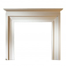 "Gallery Evesham Limestone 56"" Fireplace Surround/Mantel"