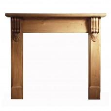 Gallery Grand Corbel Pine Wooden Fireplace Surround/Mantel