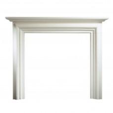 """Gallery Modena Limestone 55"""" Fireplace Surround/Mantel"""