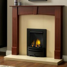 GB Mantels Carlisle Red Mahogany Fireplace Suite