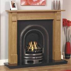 GB Mantels Cumberland Stripped Pine Fireplace Suite