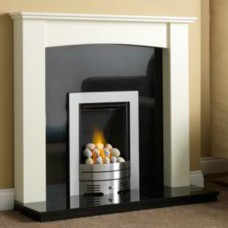 GB Mantels Disley Olde England White Fireplace Suite