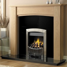 GB Mantels Greenwich Clear Oak Fireplace Suite