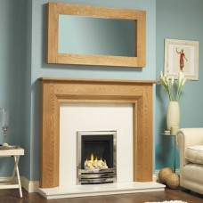 GB Mantels Lewisham Celtic Oak Fireplace Suite