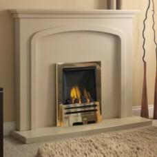 GB Mantels Malton Beige Stone Fireplace Suite